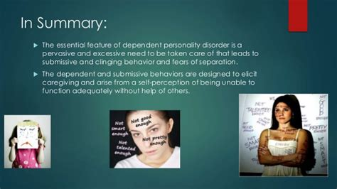 Dependent Personality Disorder -DSM5