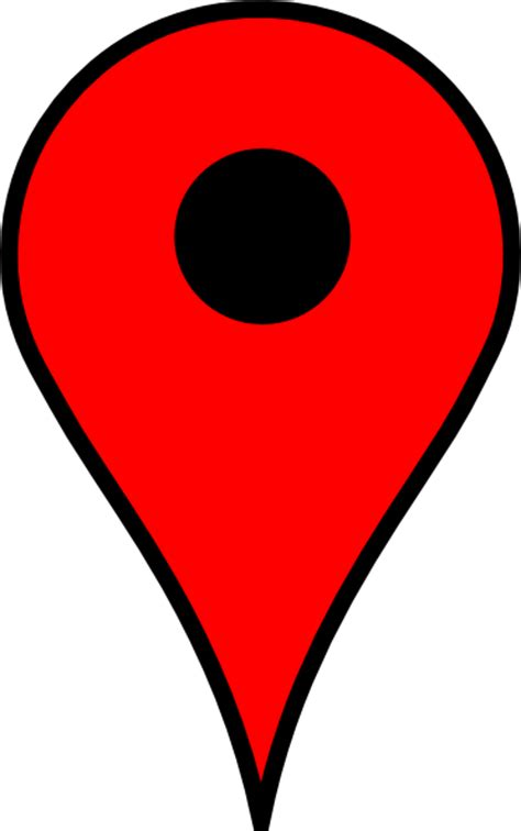 Map Pin Red Clip Art at Clker