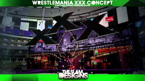 Wrestlemania 30 Concept Stage #1 - YouTube