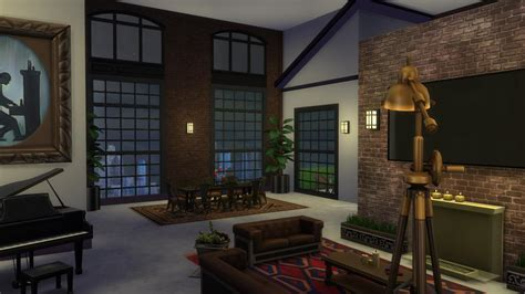 Industrial Penthouse — The Sims Forums