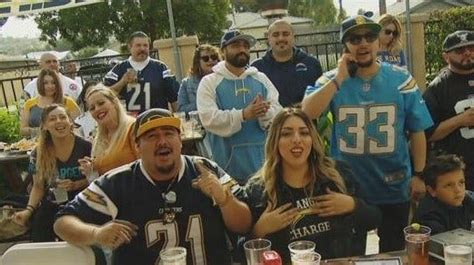 Chargers fans pack San Diego sports bars for playoff game