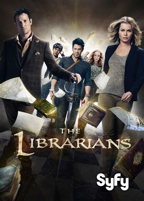The Librarians S3 Cast Promotional Poster | Librarian