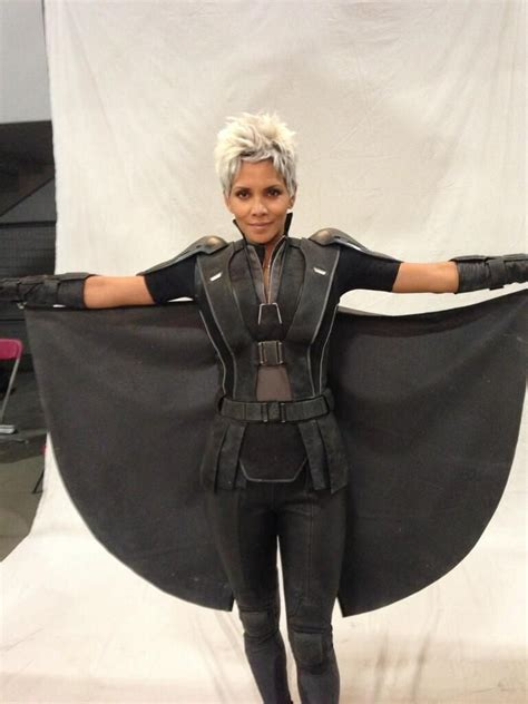 First Look at Halle Berry as Storm in X-Men: Days of
