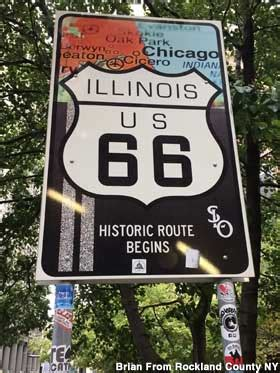 Chicago, IL - Begin Route 66 Sign