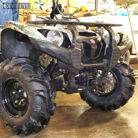 Wheel Offset 2014 Yamaha Grizzly 700 Outside Flares Lift 1