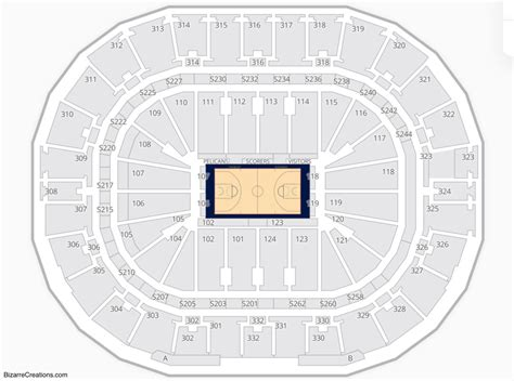 Smoothie King Center Seating Chart | Seating Charts & Tickets