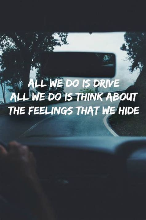 Halsey,lyrics, drive | Musica | Pinterest | Lyrics, So