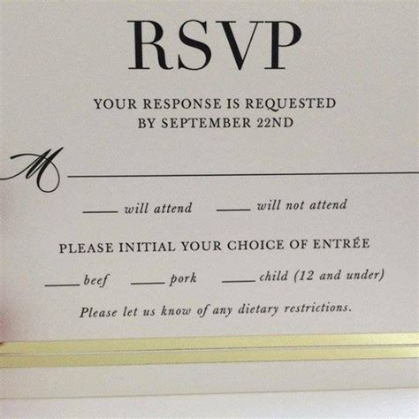 The Hilarious Typo That Made This Wedding RSVP Card Go