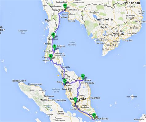 How To Overland From Singapore - Bangkok, Including Costs