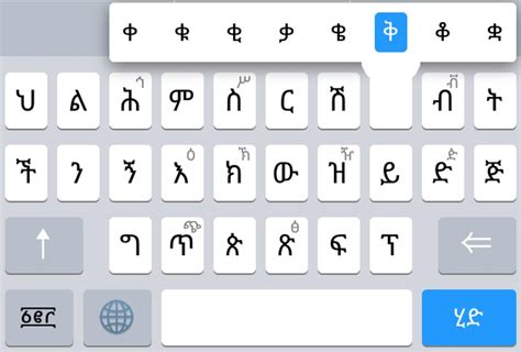 Amharic KeyBoard - Geez for Android - APK Download