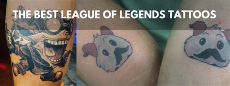 The Best (and Worst) League of Legends Tattoos