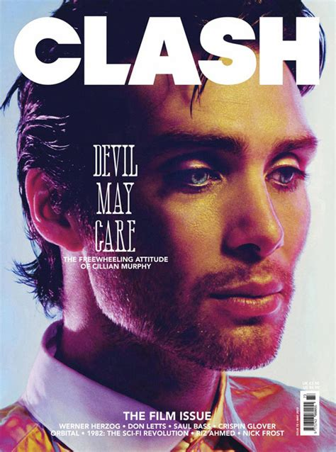 Cillian Murphy for Clash Magazine's 'Film Issue