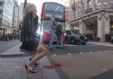 Woman Has A 'Period Explosion' In The Middle Of London
