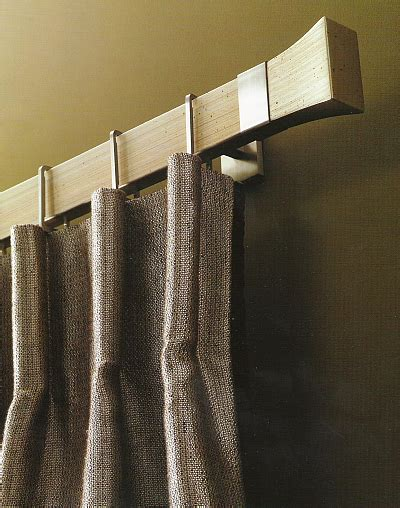 like the bold, clean look of this Conica style curtain rod