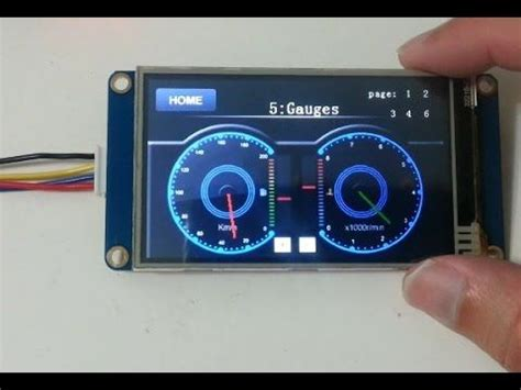 Nextion smart display demo - YouTube | Arduino projects