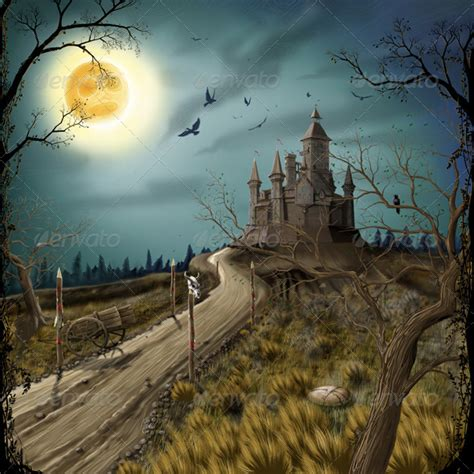 Fairytale Castle by sharpner | GraphicRiver