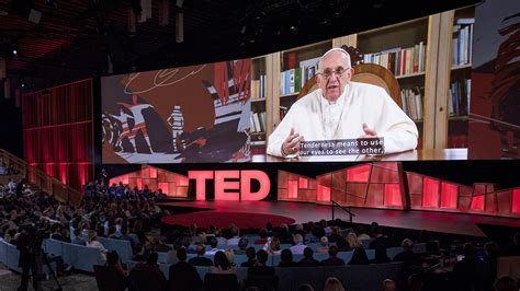 In Surprise TED Talk, Pope Francis Asks The Powerful For