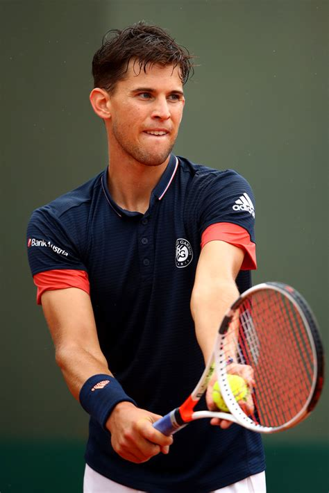 Dominic Thiem Photos Photos - 2018 French Open - Day Six
