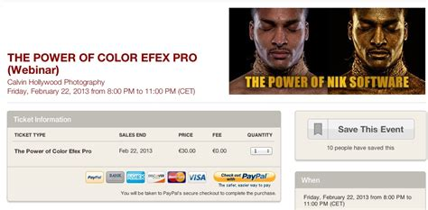 """Onlineseminar """"The Power of NikSoftware (Color Efex Pro"""