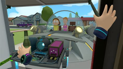 Rick And Morty's Absurd New VR Game Is Out Now, Watch The