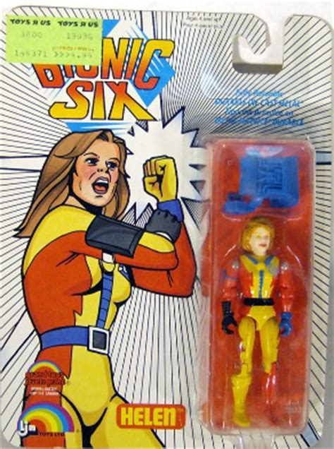 """""""OUT OF STOCK"""" The Bionic Six - Helen (MOC): Action Toys"""