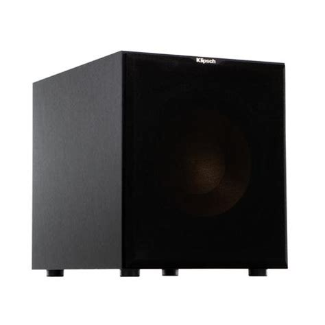 "Klipsch 12"" Black Powered Subwoofer - R-12SW B-stock – The"