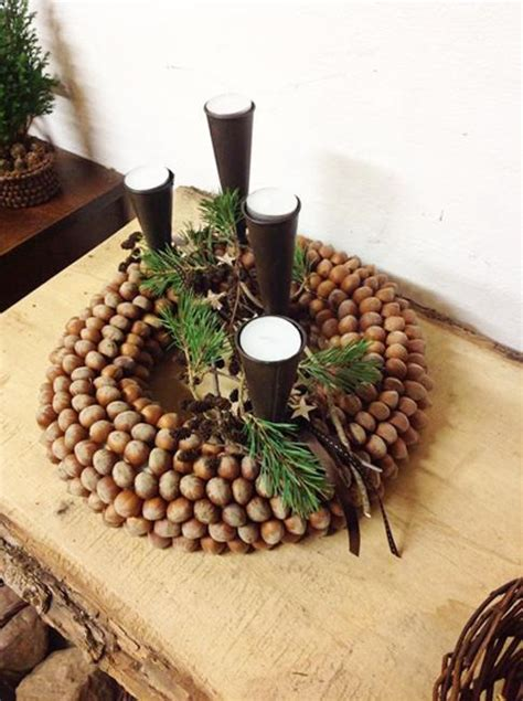 Acorn Centerpieces and Eco Accents, Fall Crafts and