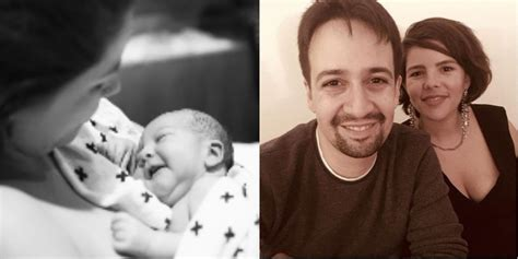 Lin-Manuel and His Wife Vanessa Nadal Welcome Baby Boy