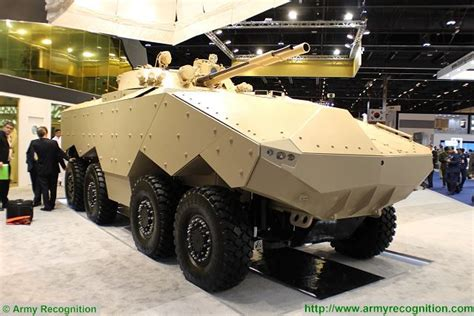 Enigma 8x8 EDT IFV armoured vehicle technical data sheet