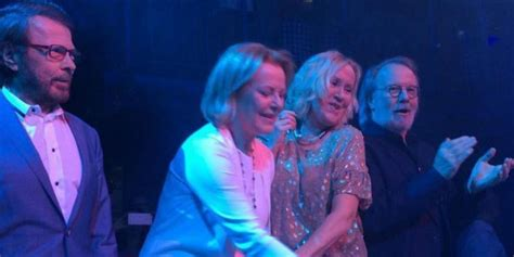 ABBA Reunite For The First Time In Years As Agnetha, Bjorn