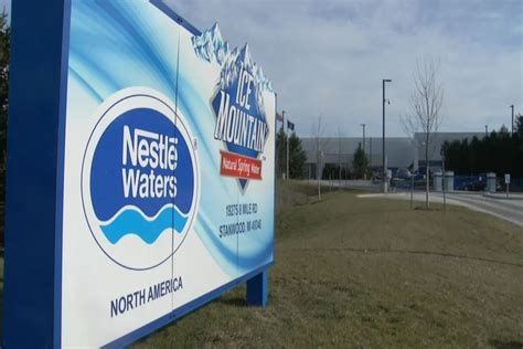 Nestle Asks US Geological Survey to Monitor Water Levels