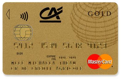 Carte Gold Credit Agricole