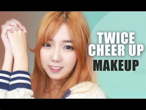 "TWICE(트와이스) ""CHEER UP"" - SANA Inspired Makeup Tutorial"