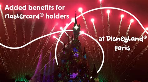 Added benefits for all MasterCard holders at Disneyland